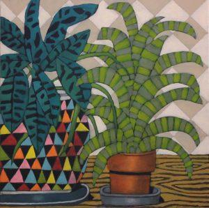 John Santucci_Coffe Table Carnival_ 61 x 61_ $750