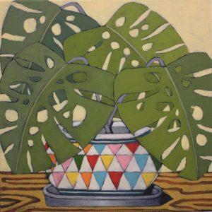 John Santucci_TThe Jewel_45 x 45cm_acrylic on canvas_$650