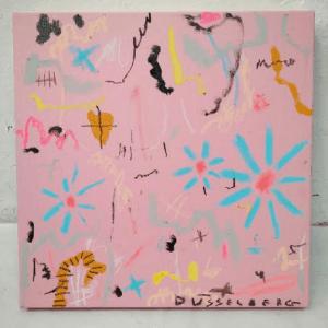 Nadia Dusselberg_GROWING PAINS I_36 x 36 cm_mixed media_ $230