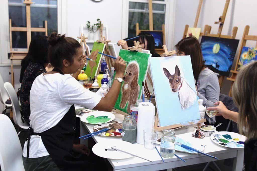 paint your pet-Sip&Paint-LadderArtSpace